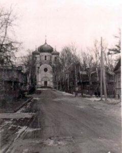 Дом м. Марии (справа). Фото 1942 г.
